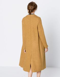 Long coat - Clothing - New - Woman - PULL&BEAR Greece