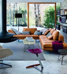 Burbank 4 piece leather set furniture pinterest for Kasa diseno interior