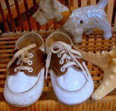 Vintage Saddle Shoes Baby Child's Baby Shoes