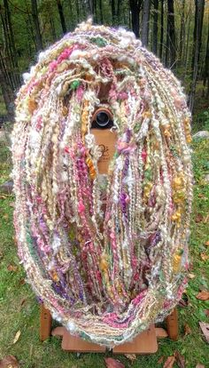Wild Flower Textured Art Yarn Now in the Shop – Alba Ranch Spinning Wool, Hand Spinning, Flower Texture, Textured Yarn, Art Yarn, Yarn Stash, Yarn Colors, Loom Knitting, Crochet Yarn