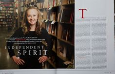 #1of 2 Emily Powell's book store has 68,000 square feet of books and was started by her grandfather 41 years earlier. Portland, Canada. Photography by Thomas Boyd. Havorford College Alumni Magazine http://thomasrboyd.com/ink/