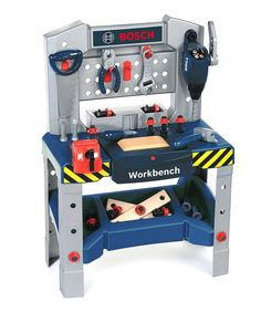 Another great find on #zulily! Play Workbench by Bosch #zulilyfinds