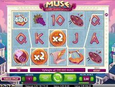 Objavujte unikátne bohatstvo bohov! http://www.hracie-automaty.com/hry/vyherny-automat-muse #HracieAutomaty #VyherneAutomaty #muse #Vyhra #hry
