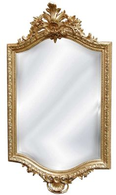 Hickory Manor House Century French Mirror in Gold Leaf USD