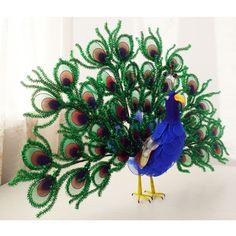 Photo gallery, Made from mesh nylon: Peacock, (nvp000008)