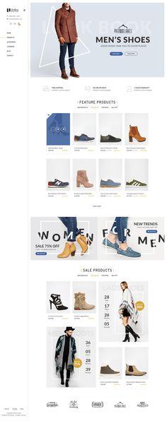 Umbra - Multi Concept eCommerce WordPress Theme on Behance