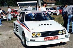 Citroën Visa Lotus (je recherche l'auteur de cette photographie)