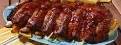 The best Spanish Food: This is a great recipe for some Spanish Barbeque Ribs, which are known as Costillas in Spain; if you study Spanish abroad, you would know is the Spanish word for ribs. Rib Recipes, Copycat Recipes, Cooking Recipes, Comfort Foods, Barbecue Ribs, Good Food, Yummy Food, Canadian Food, Spanish Tapas