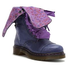 Dr Martens Triumph 1914 14 Eye Floral Print found at #OnlineShoes  see my wedding shoes!