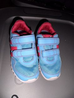 caac65c4758b83 Adidas STA Fluid Toddler Sneakers Size 9.5K Turquoise Pink  adidas  STAFluid