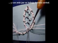 how to make the veins using long spikes and false braid 2 - in Spanish and English