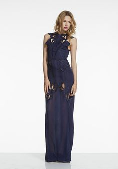 alice McCALL - River by the Rock Maxi Dress Navy (Pre-Order) | Alice McCALL