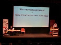 Chris Cotterill, Marketing Manager at @Plusnet PLC talking about customer empowerment at last week's #CIMNC 2013 in #Leeds