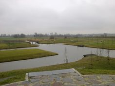 Het pas aangelegde Diepsmeerpark in Oudkarspel 2013