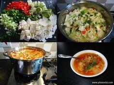 die komplette Kohlsuppendiät = 7 Kilo in einer Woche abnehmen lose the whole cabbage soup diet = 7 kilos in one week – recipe Simple cabbage soup diet recipes for weight loss – LLightning – diet – cabbage soupLow carbohydrate dinner – 10 kilos away! Detox Soup, Detox Salad, Low Carb Recipes, Diet Recipes, Vegan Recipes, Clean Eating, Cabbage Soup Diet, Cauliflower Recipes, Cauliflower Salad