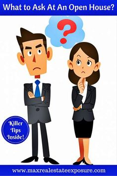 Top Questions to Ask A Listing Agent at an Open House: http://www.maxrealestateexposure.com/questions-ask-listing-agent-at-open-house/