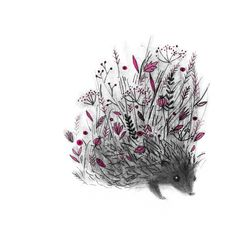 Hedgehog by Linette No