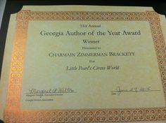 Georgia Author of the Year Award