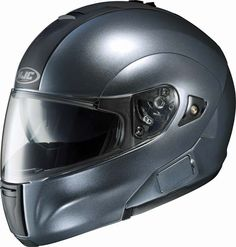 Available from HelmetCity.com, the #HJC_IS_Max #Bluetooth_Helmet allows communication between the rider and passenger when in close proximity. The HJC IS-Max Bluetooth Helmet (Anthracite) #helmet is characterized by bold design and rugged construction.