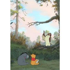 Photos from Winnie the Pooh ❤ liked on Polyvore featuring winnie the pooh