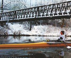 Winter rowing