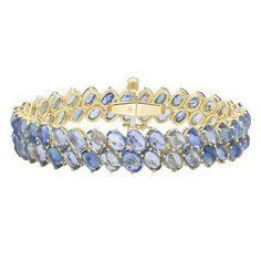 Paolo Costagli blue sapphire bracelet