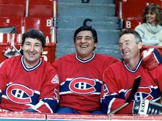 the big three Montreal Canadiens, Hockey Teams, Hockey Players, Nhl, Canadian History, The Ch, Football Memes, Nfl Fans, Chicago Blackhawks