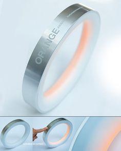 ORANGE Award LED Light by The Brand Union GmbH, Norman Quadflieg, Stephan Pantel & Jens Tarnowski (via Yanko Design).