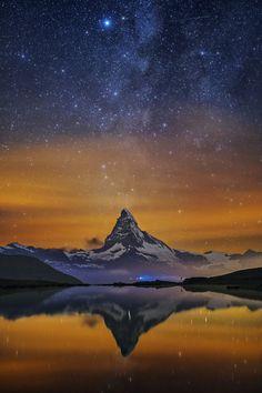 Mountainous Reflection