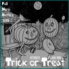 October Flash Mob - Trick or Treat // 2014 Fall Nerd Battles // craftster.org