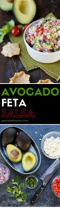 This Avocado Feta Salsa recipe is the most requested one from my ...