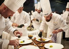 #bocusedor #bocusedoreurope2018 #contest #gastronomy #chefs #food #cooking #tasting #jury ©Studio Julien Bouvier Bocuse Dor, Chefs, Chef Jackets, Europe, Studio, Cooking, Coat, Fine Dining, Baking Center