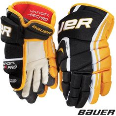The new Bauer Vapor APX glove offers a truly tapered fit for the ultimate glove feel and maximum performance. Tapered design is a distinct difference between traditional, volume fit, and anatomical fit gloves on the market today.