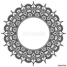 indian brodrie pattern