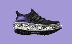 Sneaker Art - Like Marshmallows.