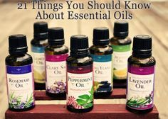 21 Things You Should Know About Using Essential Oils. http://www.crunchybetty.com/21-things-you-should-know-about-essential-oilshttp://www.crunchybetty.com/21-things-you-should-know-about-essential-oils