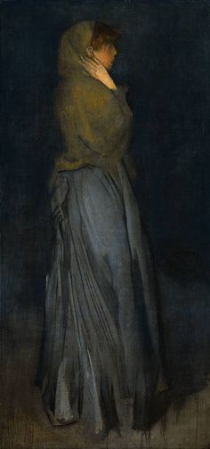 Learn more about Arrangement in Yellow and Grey: Effie Deans James Abbott McNeill Whistler - oil artwork, painted by one of the most celebrated masters in the history of art. James Abbott Mcneill Whistler, Renoir, Manet, Art Moderne, Art For Art Sake, American Artists, Love Art, Painting & Drawing, Art History