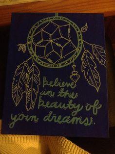 Dreamcatcher canvas art