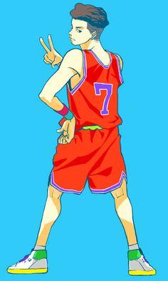 Slam Dunk Manga, Michael Jordan Slam Dunk, Skateboard Art, Anime Boyfriend, Snowboard Girl, X Games, Cute Embroidery, Miyagi, Popular Anime