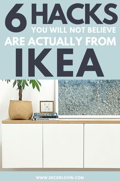 We're zeroing in on the best IKEA hacks that not only look remarkable, but are also great storage solutions. Get ready to create your own IKEA storage hacks Home Diy, Ikea Storage, Ikea Diy, Diy Furniture, Diy Furniture Redo, Diy Furniture Bedroom, Ikea Furniture Hacks, Storage Hacks, Furniture Makeover Diy Dresser