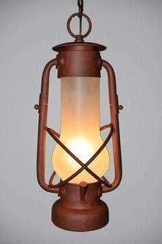 Decatur Lantern Hanging Lg Pendant