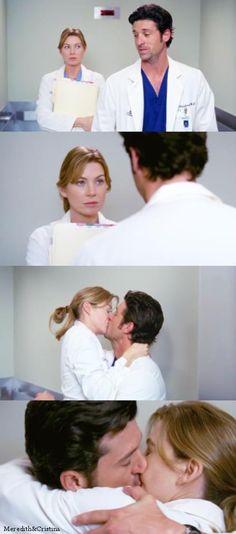 Yeah Derek is totallyyy harassing you Meredith #MerDer
