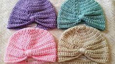 crochet baby hats for beginners - YouTube