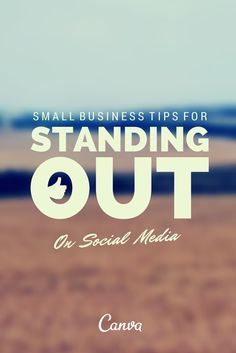 31 Experts Give Their Best Small Business Tips for Standing Out on Social Media http://www.postplanner.com/small-business-tips-for-standing-out-on-social-media/?utm_content=buffer9a40a&utm_medium=social&utm_source=pinterest.com&utm_campaign=buffer