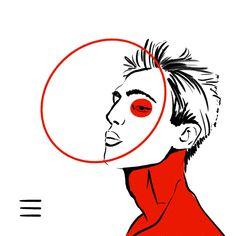 #artist #art #drawing #abstractart #digitalart #illustration #comicart #stripes #color #comic #body #stroke #red #alice #circle #ellipse #man #neck