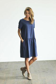 Penelope Dress // CLAD & CLOTH