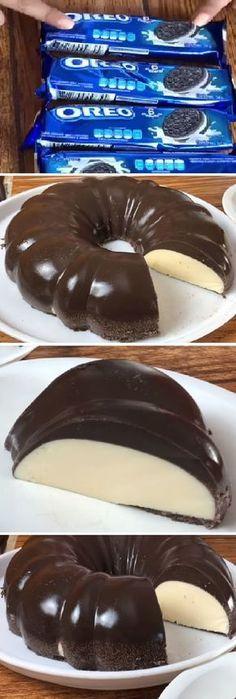 38 Ideas For Cheese Cake Oreo Philadelphia Jello Recipes, Cake Recipes, Dessert Recipes, Chef Gourmet, Flan Cake, Good Food, Yummy Food, Food Wishes, Sweet Recipes