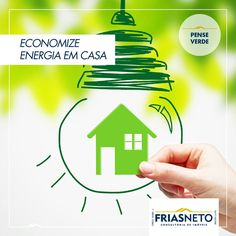 Apagar a luz quando sair do ambiente não é o único modo de economizar energia. Além disso, você pode optar por lâmpadas de LED. Apesar de serem um pouco mais caras, elas compensam o investimento no dia a dia, pois têm durabilidade maior e usam menos energia – 80% a menos em relação às incandescentes e 35% em relação às fluorescentes.  Fonte: Portal Brasil