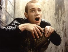 TRAINSPOTTING, Ewan McGregor, 1996 | Essential Film Stars, Ewan McGregor http://gay-themed-films.com/film-stars-ewan-mcgregor/