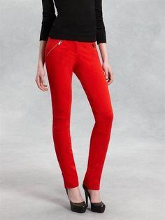 Ankle Length Skinny Pant - DKNY - StyleSays